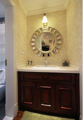 精致时尚美式风格浴室柜设计赏析