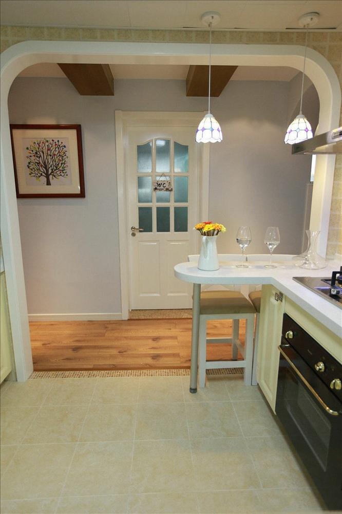 东南亚风格米色厨房垭口美图赏析图片