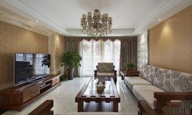 雅致新古典风格客厅设计图片赏析