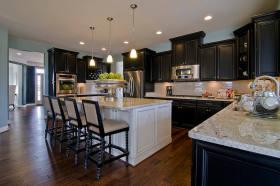 清新优雅简约风格厨房装潢