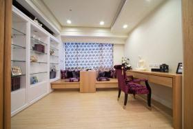 现代风格米色时尚书房设计装潢