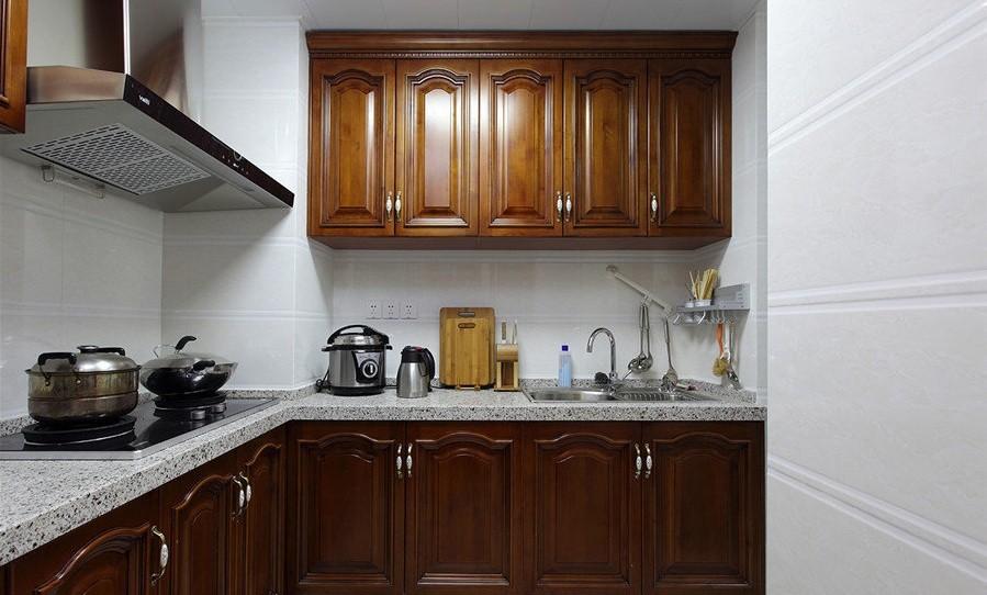 欧式厨房橱柜装潢设计图