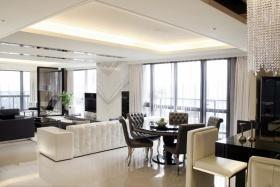 欧式风格白色吊顶欣赏