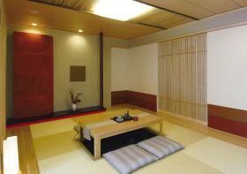 米色日式风格榻榻米装修设计