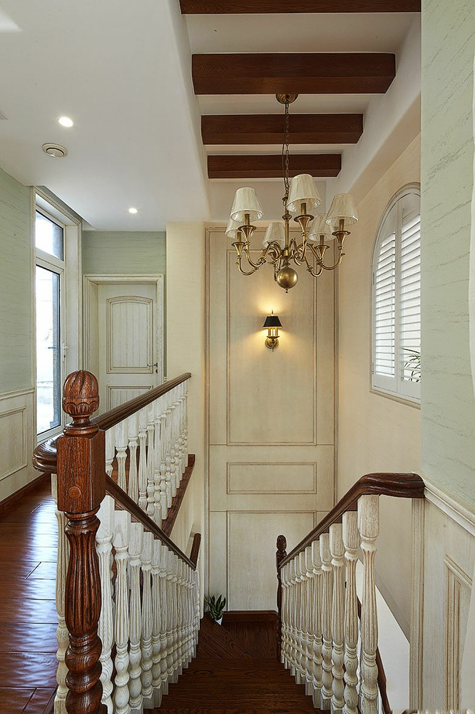 精致时尚欧式风格楼梯设计装饰案例