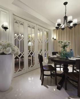新古典雅致时尚风格餐厅图片