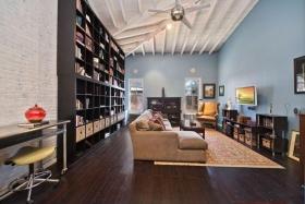 创意混搭蓝色客厅装修设计