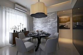 现代灰色餐厅设计美图