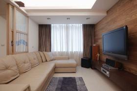 现代风格时尚米色客厅图片