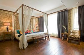 东南亚温馨雅致卧室设计图