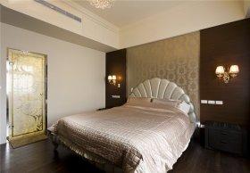米色新古典卧室装潢案例