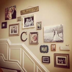 复古欧式浪漫照片墙装修设计