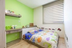 2016绿色清新简约风格儿童房装修效果图