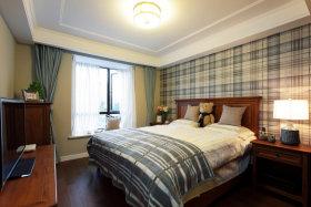 田园风格清爽白色卧室美图欣赏