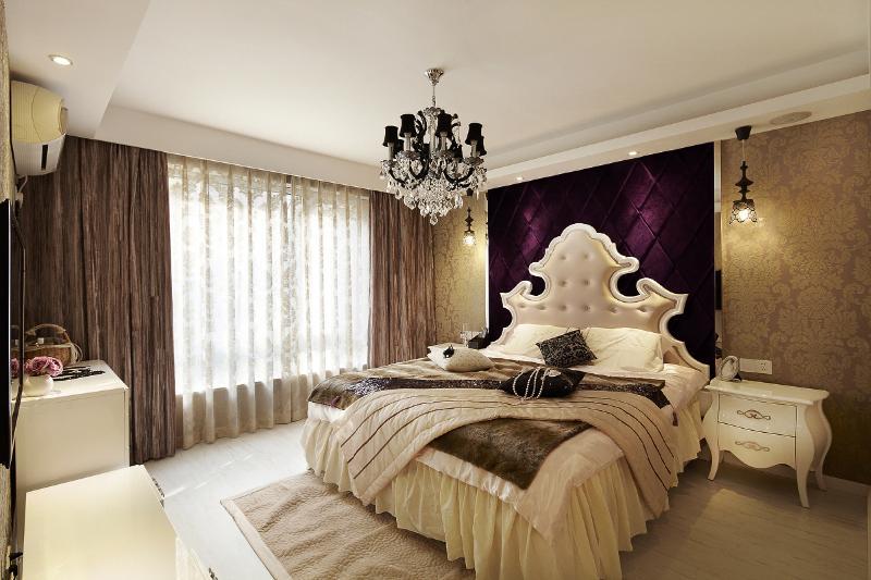欧式温馨卧室装修图片赏析
