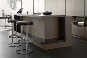现代风格厨房吧台设计欣赏