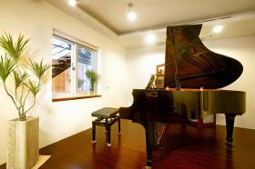 美式风格休闲气质琴房设计装潢