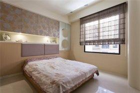 粉色现代风格卧室图片设计赏析