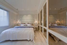 简约大气白色卧室美图欣赏