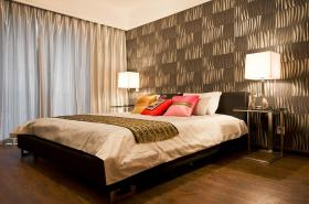 现代混搭卧室图片欣赏