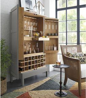 简洁现代时尚酒柜设计图片