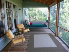 舒适休闲浪漫混搭阳台装潢设计