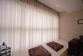 东南亚风格米色飘窗装修布置