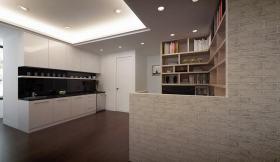 宜家米色厨房效果图设计