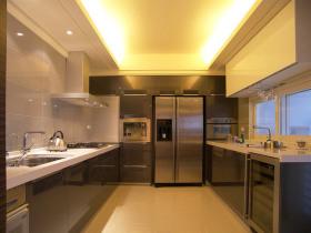 明亮宽敞简约风格厨房装修设计