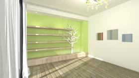 时尚创意现代风格背景墙设计赏析