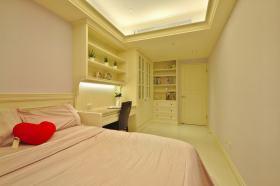 新古典风格黄色卧室设计图片