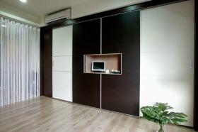 现代简约收纳柜装潢设计图