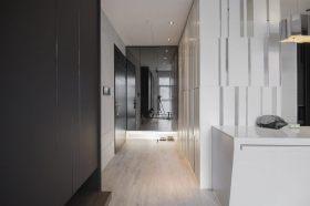 灰色现代风格走廊装修