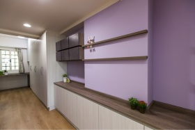 浪漫简约风格实用收纳柜设计装修效果图
