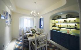蓝色地中海活力餐厅效果图赏析
