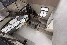 工业风简约创意灰色楼梯欣赏