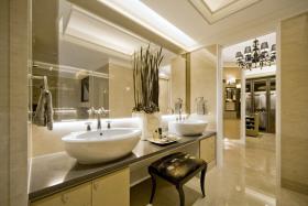 欧式风格米色时尚卫生间设计