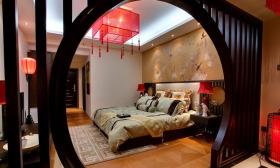 中式卧室隔断美图欣赏