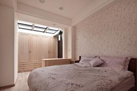 粉色混搭风格卧室装潢设计