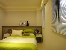 宜家清爽绿色卧室装饰案例