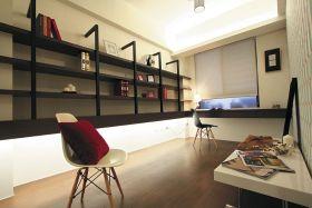 米色浪漫时尚宜家风格书房装饰设计图片