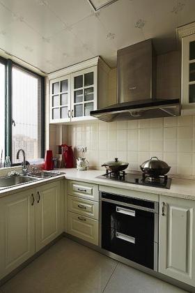2016大气时尚简欧风格厨房装潢设计