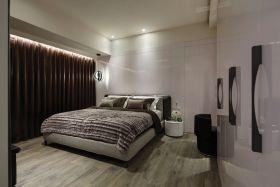 混搭灰色大气卧室设计图片