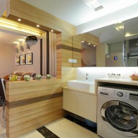 简洁美式风格卫生间装饰图