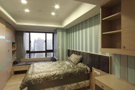 简欧风格米色卧室设计图片