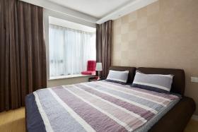 素色卧室装饰设计图片