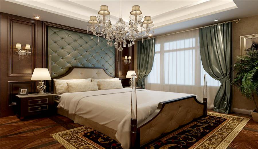 2016低奢华丽欧式风格卧室装修效果图