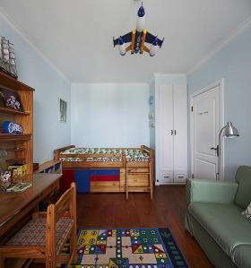质朴趣味田园风格儿童房设计案例