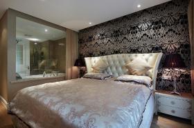 新古典大气雅致黑色卧室美图欣赏