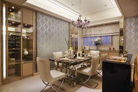 精致轻奢新古典餐厅装饰图
